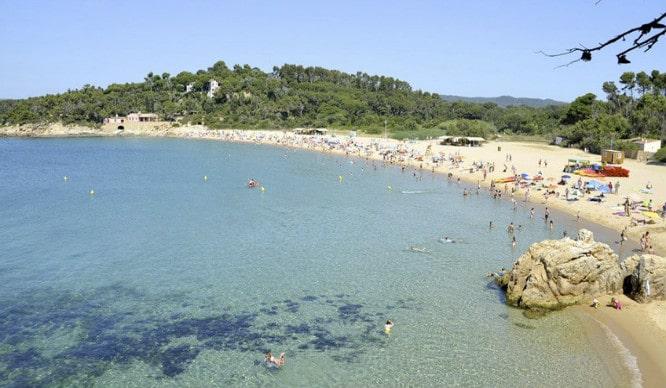 playas de barcelona castell