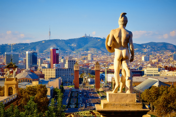 lunes en barcelona