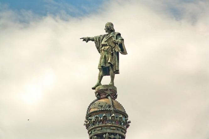 estatua colon
