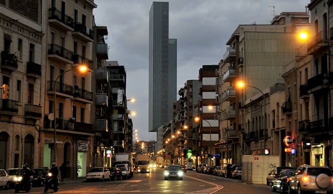 rascacielos más altos de Barcelona