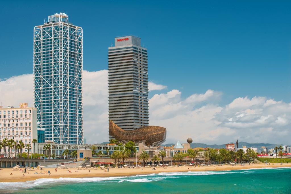 Torre Mapfre y Hotel Arts