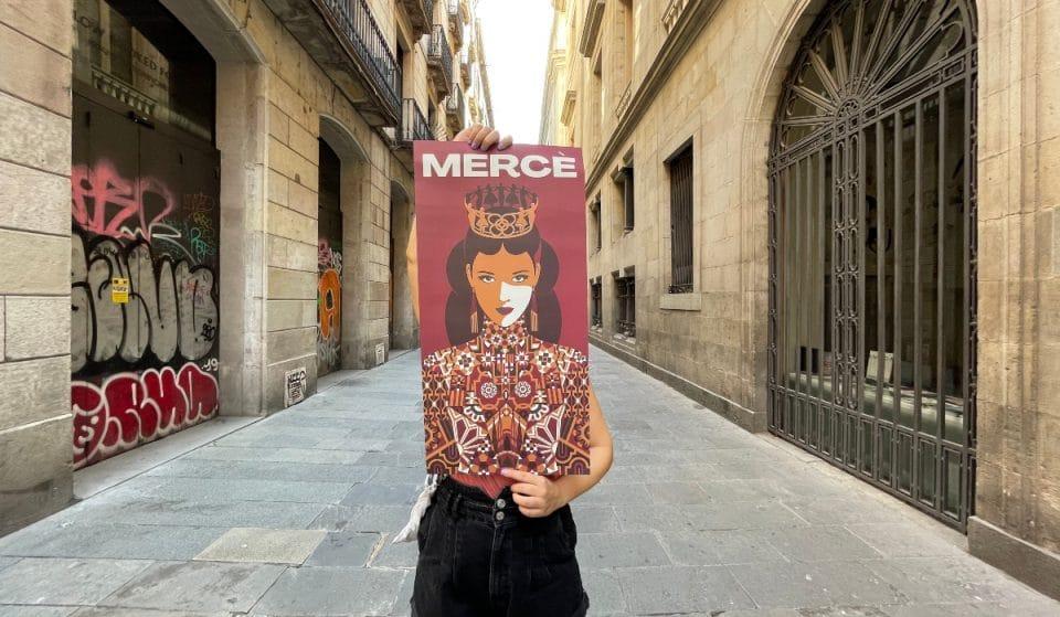 El Ayuntamiento vuelve a regalar carteles de La Mercè 2021