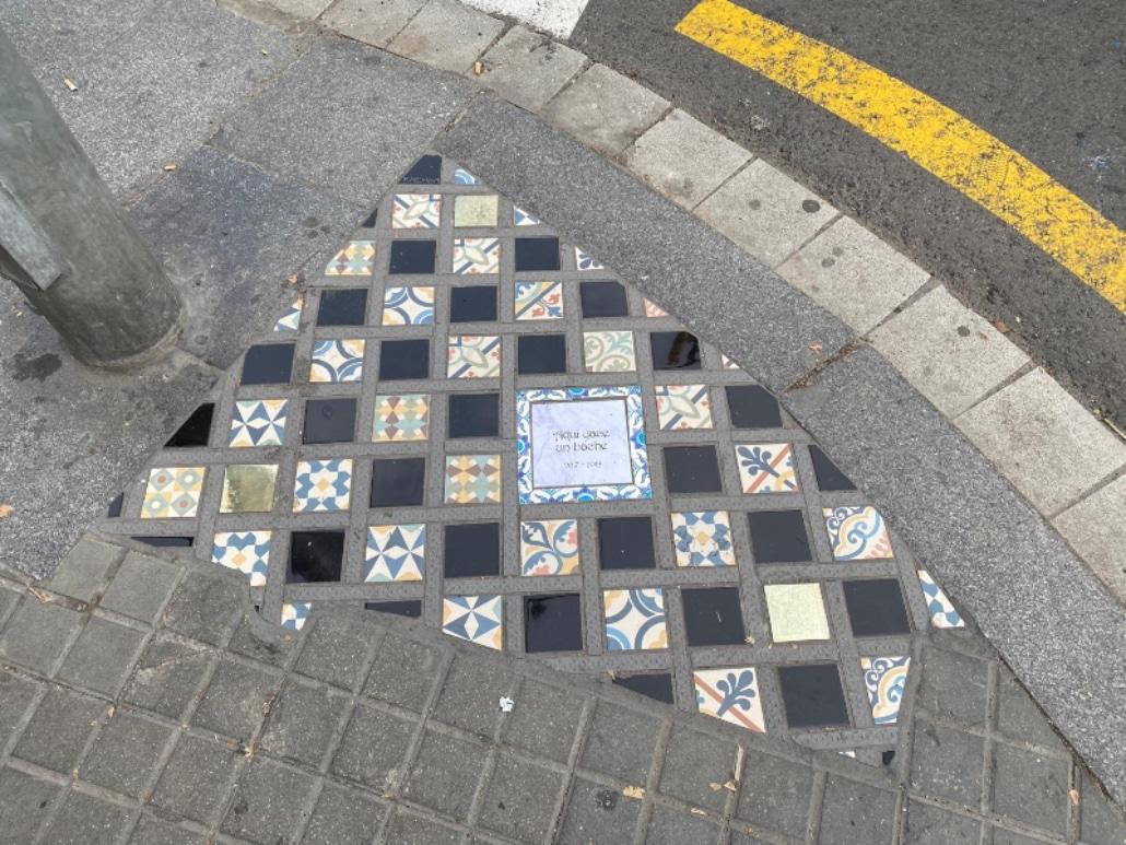 Krajobraz po zamieszkach w Barcelonie