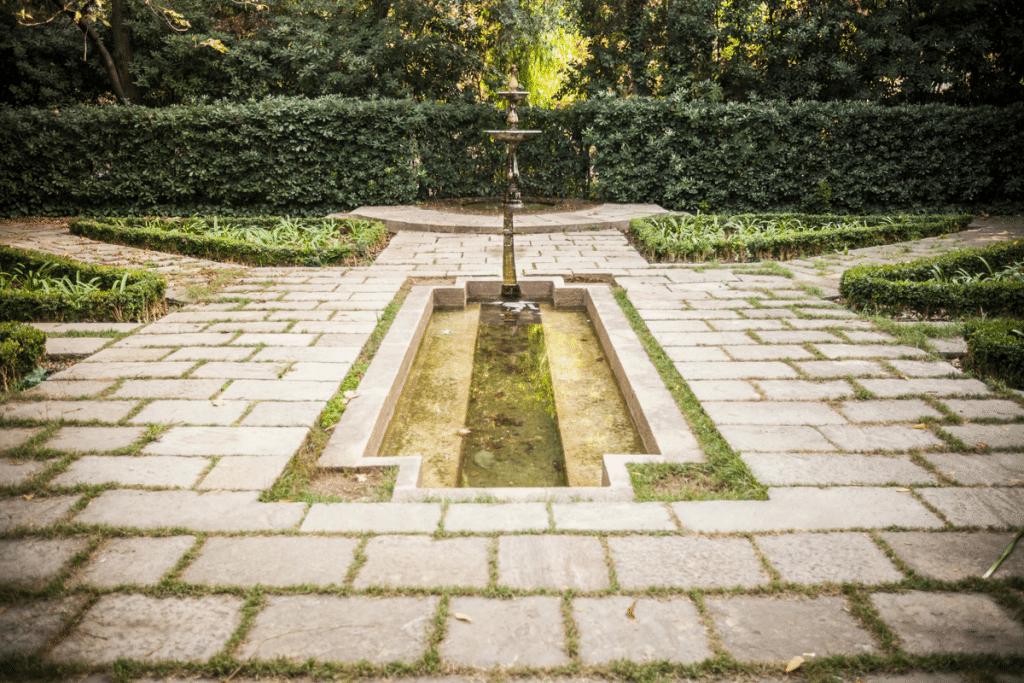 Jardín de la Tamarita