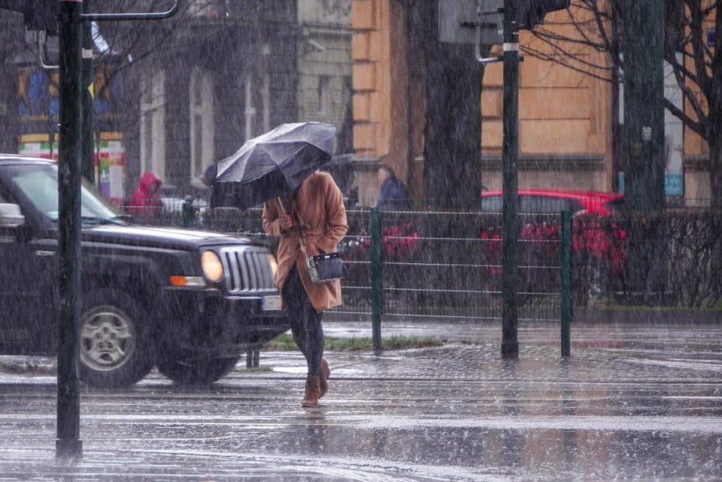 Semana de lluvias, tormentas y frescor de finales de verano