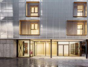 El edificio de viviendas hecho de contenedores marítimos, premiado por la Nueva Bauhaus Europea