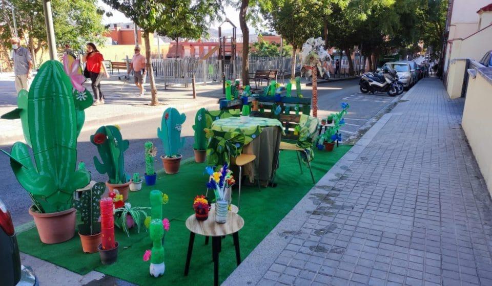 Hoy es Park(ing) Day: el día en que Barcelona toma los aparcamientos