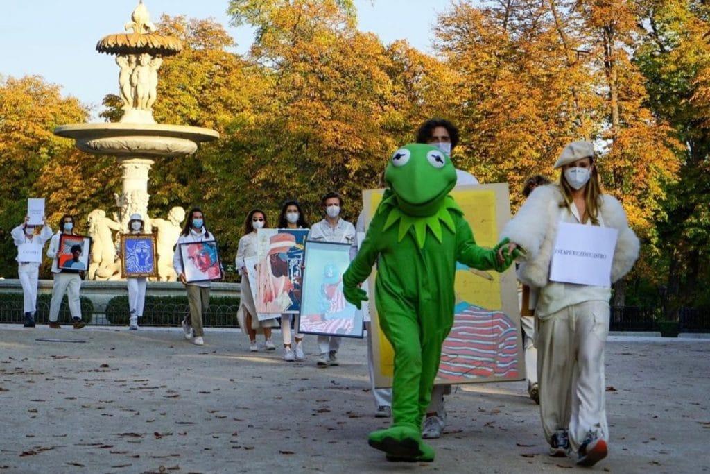 La Exposición Andante llega a las calles de Barcelona