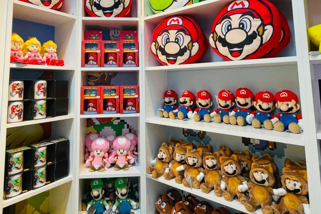 Llega a Barcelona la primera tienda de Nintendo
