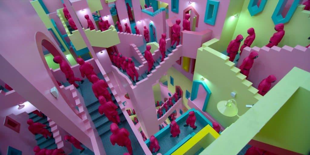 El edificio diseñado por Bofill que ha inspirado «El juego del calamar» de Netflix
