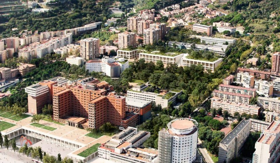 El futuro Hospital Vall d'Hebron tendrá un nuevo helipuerto y un parque