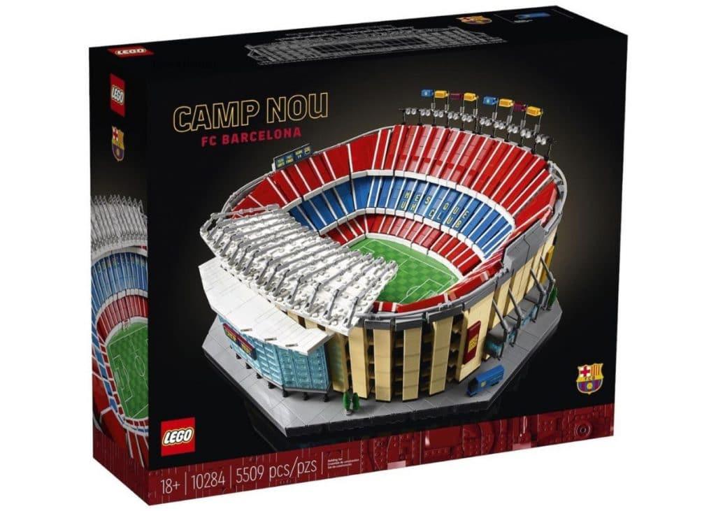 Así es el Camp Nou que LEGO ha puesto a la venta