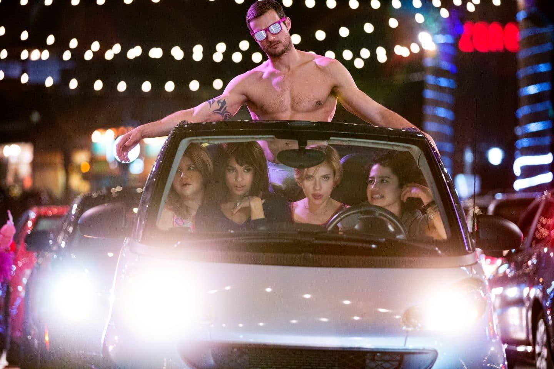 Ryan Cooper, Jillian Bell, Zoe Kravitz, Scarlett Johansson and Ilana Glazer in ROUGH NIGHT
